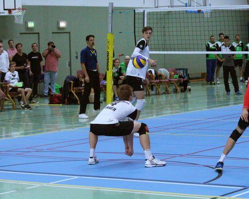 Volleyball-Internat Frankfurt: Sieglos beim Doppelpack
