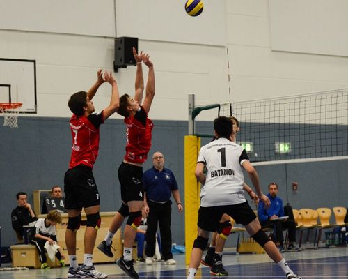 "Volleyball-Internat Frankfurt: ""Doppelpack"" gegen Bocholt & Bitterfeld"