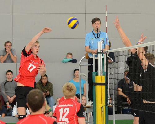 Neu beim Volleyball-Internat Frankfurt: Erik Niederlücke