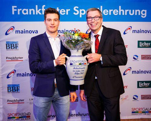 Volleyball-Internat Frankfurt: Tolle Auszeichnung für Stefan Thiel – Frankfurts Nachwuchs-Sportler des Jahres